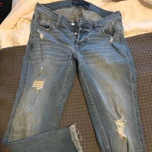 Low-rise Boyfriend fit Hollister jeans size 27 (5)